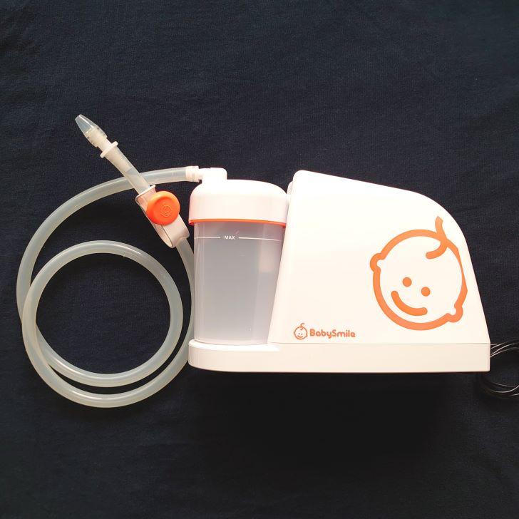 電動鼻水吸引機メルシーポットの本体画像